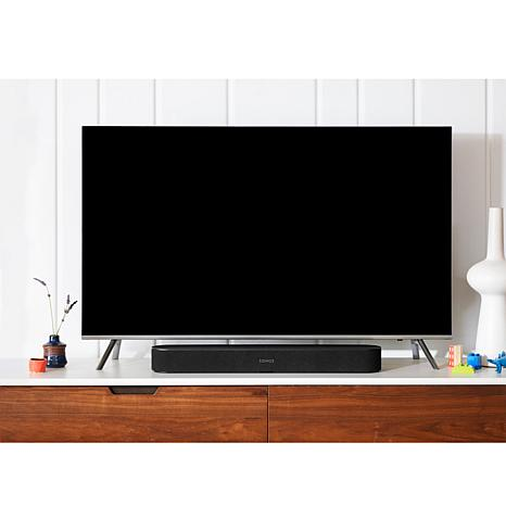 tv with a sound bar