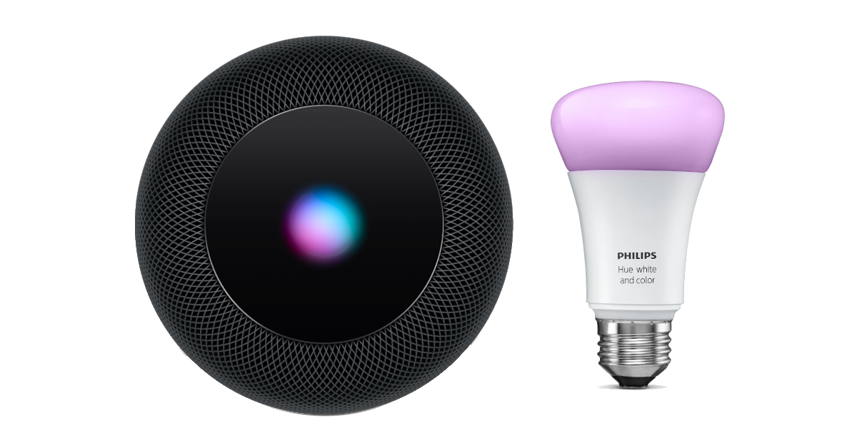 HomePod and a Hue Light