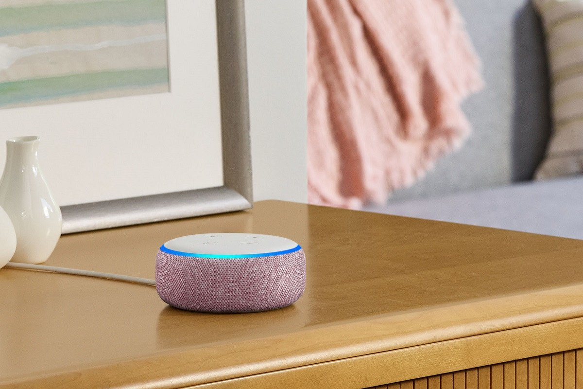 Amazon Echo Dot, Plum