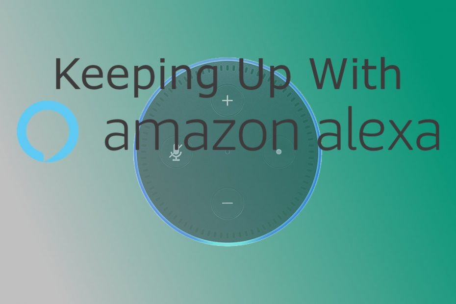Keeping Up With Alexa Commands