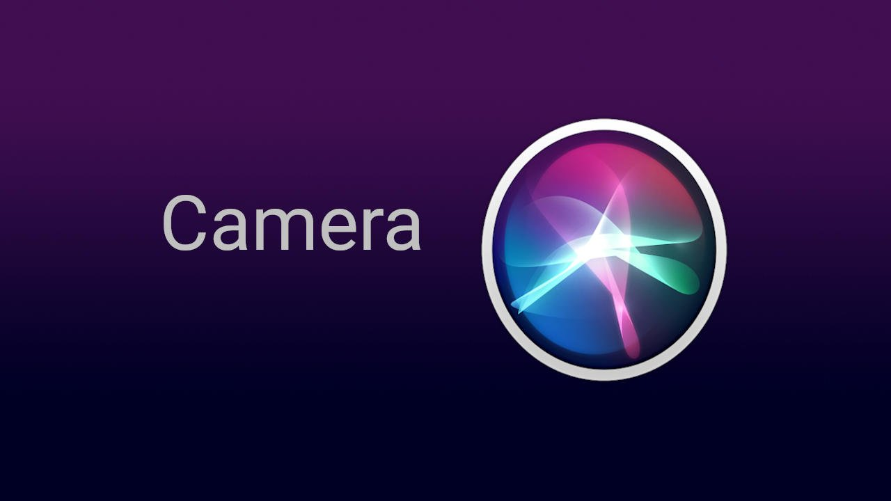Siri Camera Commands