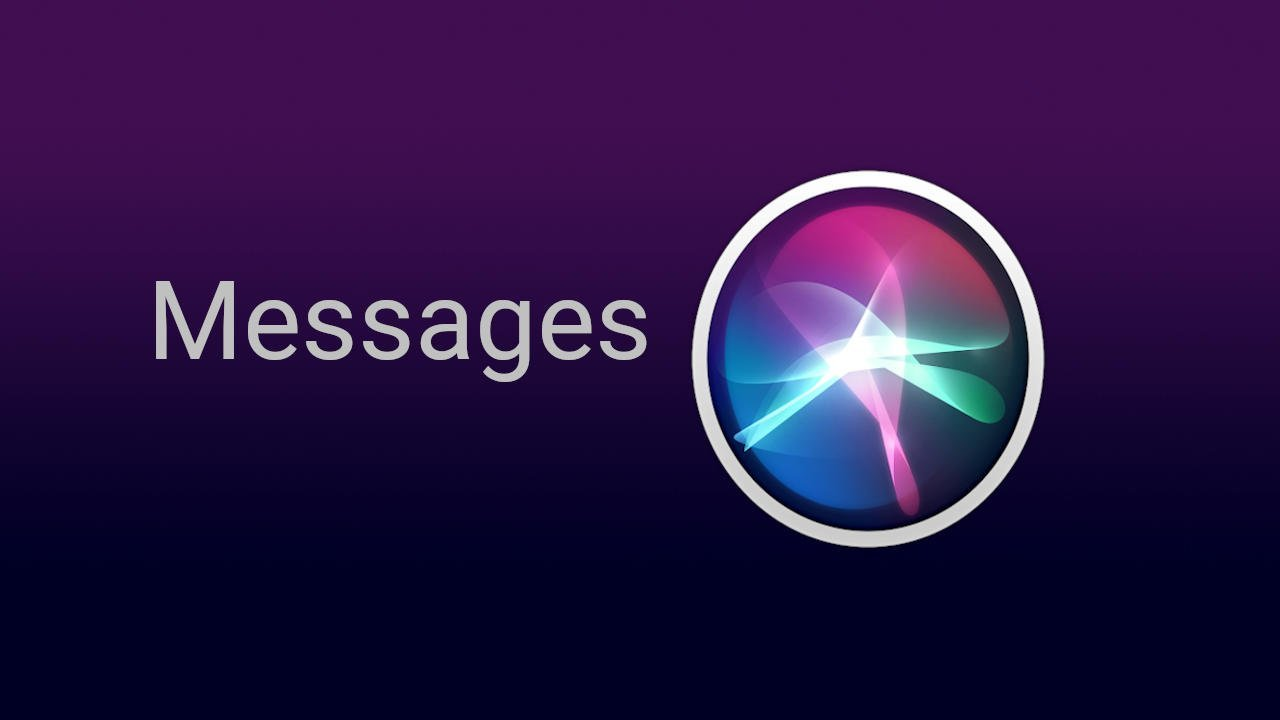 Siri Messages Commands