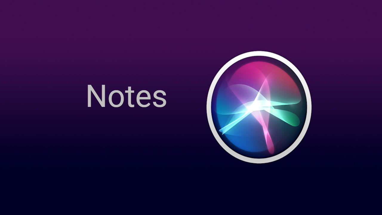 Siri Notes Commands
