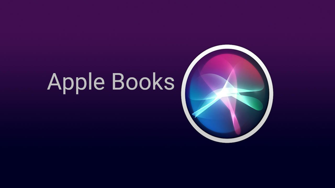 Siri Apple Books Commands