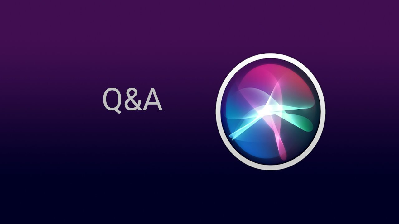 Siri Question and Answer Commands