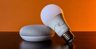 Google Home and Light